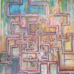 """Oil on Wood 24""""x48"""" 2012 original available"""