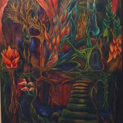 """Oil on canvas 30""""x30"""" 2010 sold"""