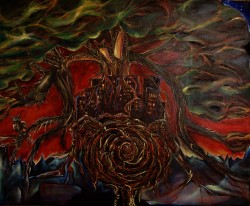 "Oil on Canvas 40""x 30"" 2005 sold"